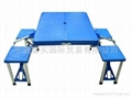 plastics folds table & chair