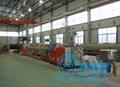 HDPE大口徑中空壁纏繞管生產