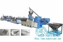 木塑建筑模板生产线