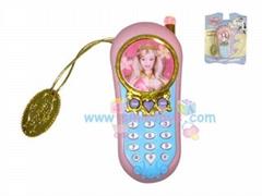 芭芘玩具手機
