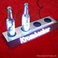 亚克力/有机玻璃LED发光展示牌 标识牌 啤酒座 5