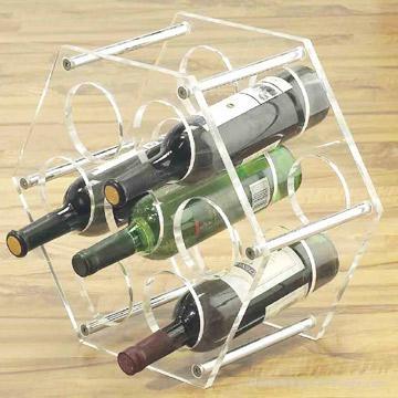 亚克力葡萄酒展示架 2