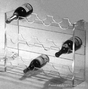 亚克力葡萄酒展示架 3