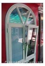 2012 Newest and most popular style aluminum tilt and turn window