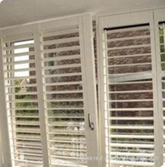 2012 Newest and most popular style UPVC shutter windows and doors