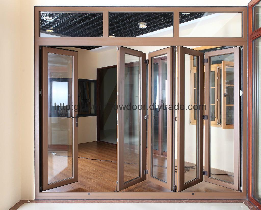 Folding Door Suppliers : Aluminum folding door ts tiansheng china
