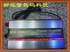 1000W POWER INVERTER WITH CHARGER