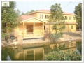 Wooden hotel house 1