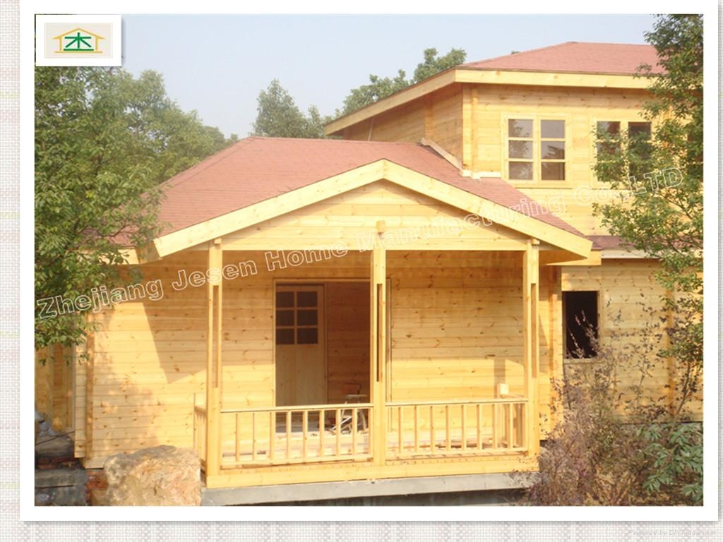 Wooden hotel house 2
