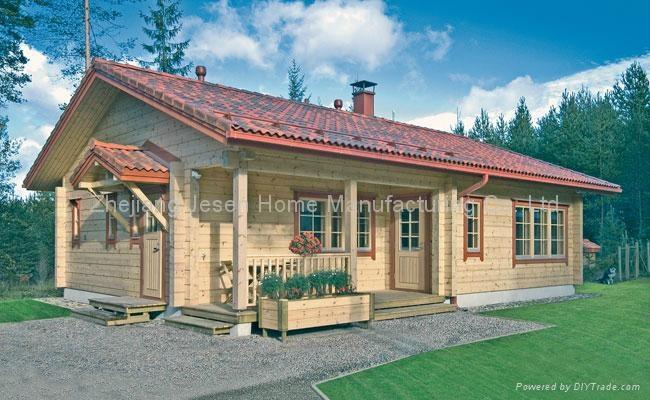 wooden villa 1