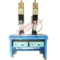 Non standard double head ultrasonic welding machine