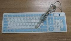 硅膠有線鍵盤KB-3110