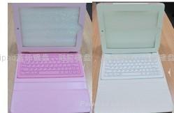 键盘和皮套的全新组合IPAD蓝牙键盘 1