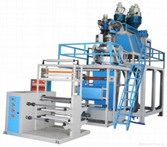 three layer film extrusion pp blowing machine