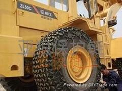 装载机轮胎防护链