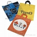 printed T-shirt plastic bag