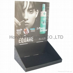 POS counter display shampoo retail cardboard display box