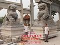 汉白玉石雕狮子 5