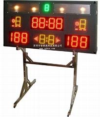 多功能小型比赛计时计分系统