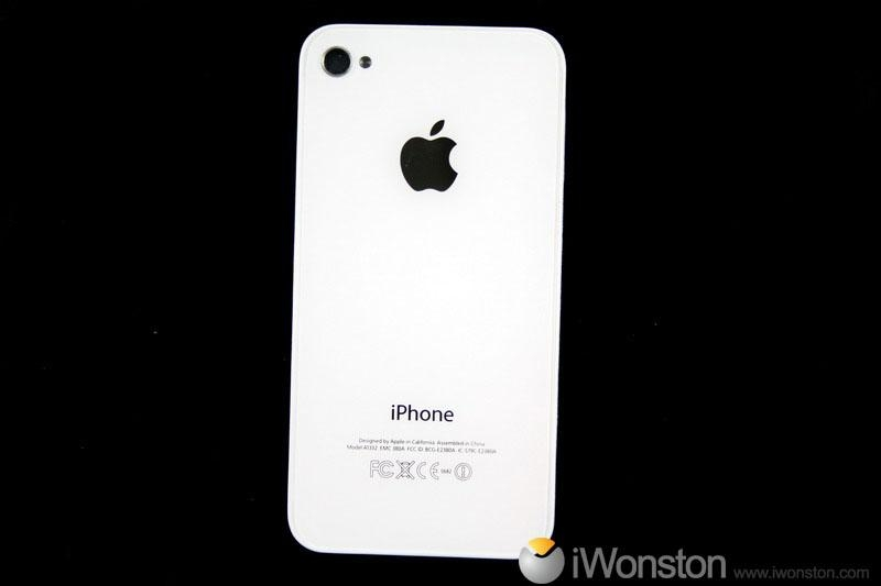 iphone 4 back glass replacement. For iPhone 4 4G White Back