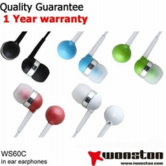 2013 New high quality mp3 stereo earphones