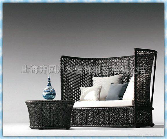 高背花式沙發椅可按圖按樣定做 3