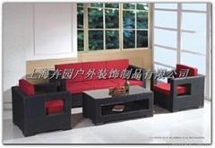 pe藤式沙發