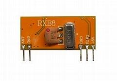 315M无线射频超外差接收模块RXB8抗干扰