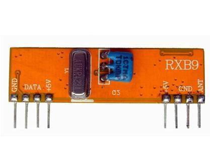 433M无线射频超外差接收模块RXB9 1