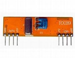 433M无线射频超外差接收模块RXB9