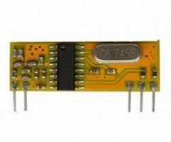 433M无线射频超外差接收模块RXB10
