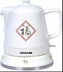 西安青花瓷壶 西安电磁壶定做 西安电热壶 西安电烤磁壶