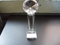 西安個性水晶獎杯設計  1