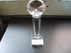 西安个性水晶奖杯设计