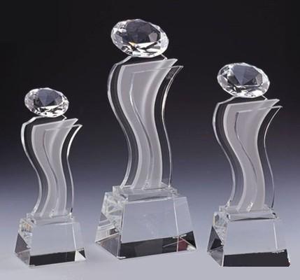 西安個性水晶獎杯設計  4