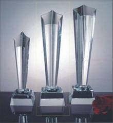 西安水晶奖杯