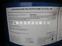 供應聚乙二醇PEG600美國陶氏