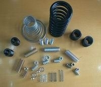 cylindrically coiled compression spring