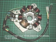 Coil comp Honda TITAN, CGL-125. and others models...