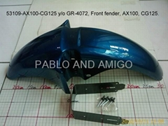 Front fender AX100 CG125. and others models...