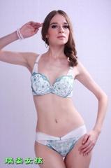 Hot sexy girls romantic bra set