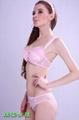 Lovely girls romantic bra set 2