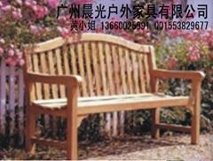 木製公園休閑長椅CG-3101