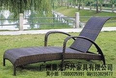 仿藤泳池休閑躺椅CG-2205