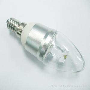 1W E14蜡烛灯 1