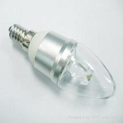 1W E14 LED Candle Bulb