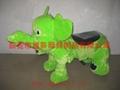 儿童喜愛的小飛象毛絨車電動車玩具儿童車 3