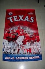 Fan banner flag