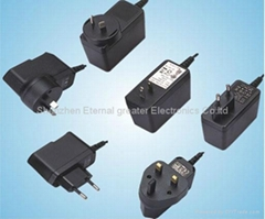 Power ac dc adapter  5V 3A with CE UL approval