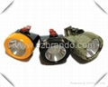 KL2.5LM A cordless safety cap lamp with 2.5Ah Li-ion battery